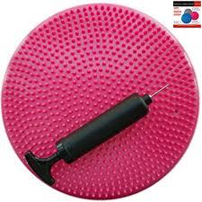air stability wobble cushion pink 35cm14in diameter balance