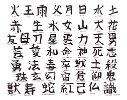 the chinese letters tattoos the simple chinese letters are quite