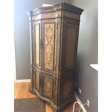 Hooker Tv Armoire Hooker Furniture Hand Painted Armoire Chairish
