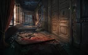 scene corridor for social hidden object game by denusb on deviantart