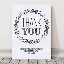 wedding gift table sign a4 thank you sign for wedding gift table post vintage roses buy 2