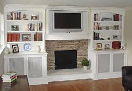 White Electric Fireplace With Bookcase Wall Units Amazing Built In Entertainment Center Around Fireplace