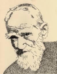 word portraits by artist john sokol g b shaw as