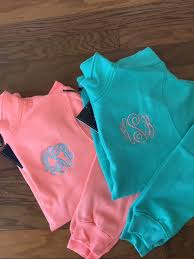 monogramed items monogram items
