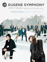 pink martini hey eugene eugene symphony 2016 17 season program magazine 3 by eugene