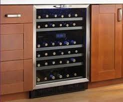 wine cooler cabinet reviews new under cabinet wine fridge home insight