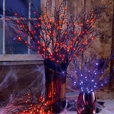 pre lit branches lighted spooky branches at brookstone buy now