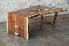 waterfall coffee table wood custom made live edge walnut waterfall coffee table wood projects