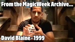 Blaine Meme - david blaine magician peugeot 206 gti ad 1999 magicweek co