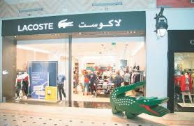 lacoste siege lacoste collection has a hint of yesterday
