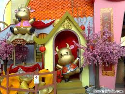 Lunar New Year Decoration Ideas by Chinese New Year Decoration Chinatown Singapore Singapore