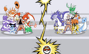 pokemon ash and red images pokemon images