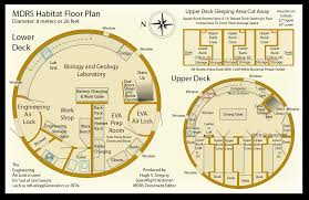 Air Force One Layout Floor Plan Mars Hab Layout Mars Desert Research Station Science U0026 Space