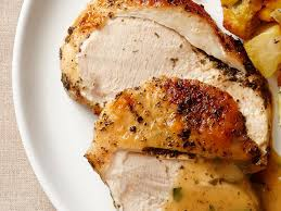 brined turkey with classic herb butter recipe food network