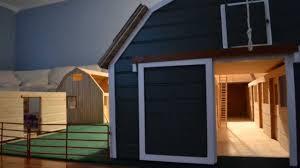 10 Stall Horse Barn Plans Homemade Breyer Horse Barn Youtube