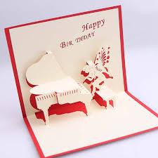 online get cheap birthday gift card piano aliexpress com