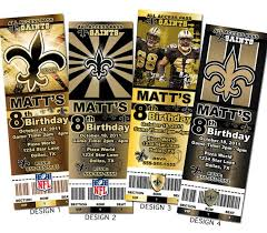 new orleans saints birthday invitations dolanpedia invitations ideas