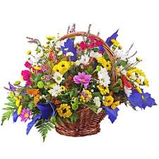 flower baskets send flower baskets to moscow gift and flower delivery in russia