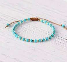 bead string bracelet images Womens bracelet stone beads string friendship bracelet handmade jpg