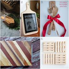 kitchen gift ideas for 30 wooden handmade gift ideas one woof