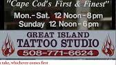 great island tattoo studio for tv cape cod youtube