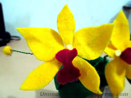 cara membuat bunga dari kertas pita jepang bunga ummu aliyyah ath thabrani