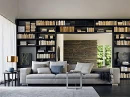 home contemporary interior idea with amazing circular bed