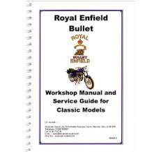 bullet workshop manual 350 u0026 500 classic