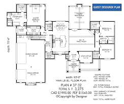 house plan 37 32 1st floor plan craftsman style house plans
