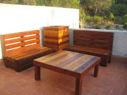 How To Make Pallet Patio Furniture by