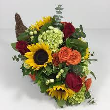 cornucopia arrangements lush harvest cornucopia kansas city florist flower delivery