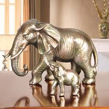 ec daily one pair of elephant ornaments creative living room