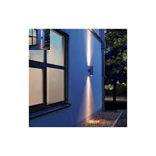 intalite 227885 rox pro g8 5 outdoor wall light in anthracite