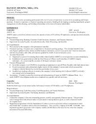 Sample Resume For Accounting Position by Accounting Resume Free Resume Example And Writing Download