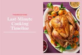 a make ahead schedule for thanksgiving kitchn