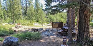 Island Lake State Park Map by Sardine Lake Campground Camping In California