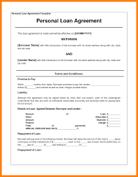 3 family loan agreement template packaging clerks