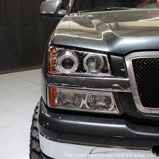 2003 chevy silverado fog lights 03 06 silverado dual halo projector led headlights led bumper signal