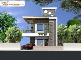 Indian Duplex House Elevation Designs Home And House Style - Duplex homes designs
