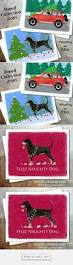 bluetick coonhound gifts black tan bluetick or redbone coonhound christmas pin magnet or