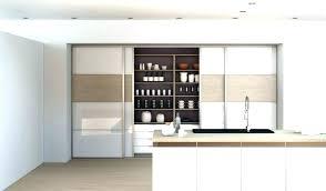 porte de cuisine en verre porte de cuisine coulissante porte coulissante cuisine en verre