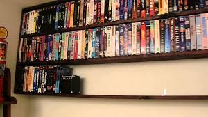 new shelving for my vhs tapes youtube
