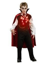 boys kids halloween costumes lite up vampire boys u0027 child halloween costume walmart com
