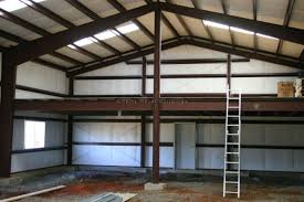 Steel Shop With Mezzanine In Clermont Fl Customer Testimonial