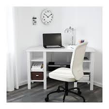 Oxford Corner Desk Brusali Corner Desk White 120x73 Cm Ikea Inside White Corner Desks