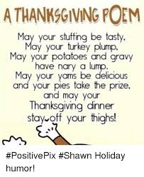 a thanksgiving poem may your be tasty may your turkey plump