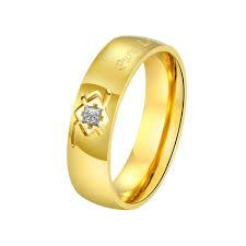 Wedding Rings For Girls by Wedding Rings 24 Karat Gold Ring Mens 24k Gold Ring With Diamond