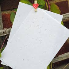 flower seed paper recycled and plantable seed paper craft accessories