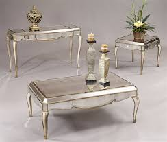 mirrored end table set mirrored coffee table set also mirrored coffee table west elm