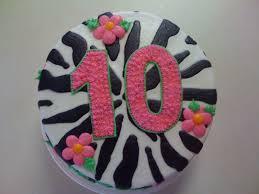 10th birthday cake zebra birthday pinterest 10th birthday